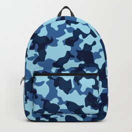 Camouflage Blue Backpack