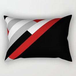 Diagonal stripes pattern Rectangular Pillow
