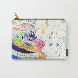 Bearded Dragon in full colour Carry-All Pouch