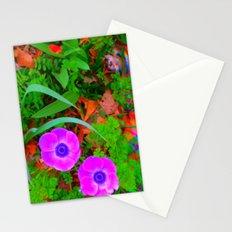 poppies will make them sleep Stationery Cards