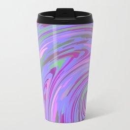 PURPLE SAFARI FLOW Travel Mug