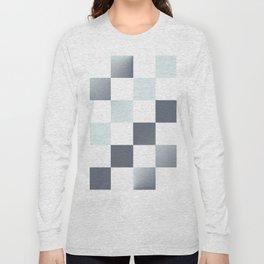 Square Pattern Simple Grid #decor #society6 #buyart Long Sleeve T-shirt