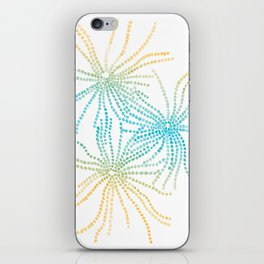 Sand Stars - Blue & Yellow iPhone Skin