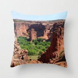 Canyon de Chelly View Throw Pillow