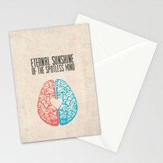 Eternal Sunshine of the Spotless Mind - Alternative Movie Poster Stationery Cards