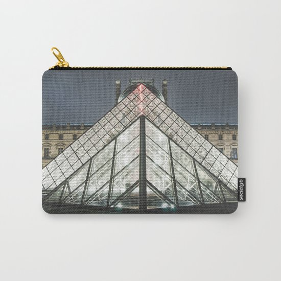 Paris pyramide Louvre 2 Carry-All Pouch