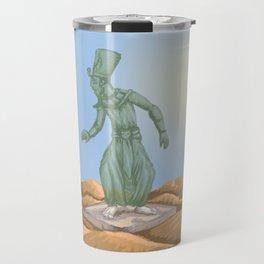 Ozymandias and the Urn Travel Mug