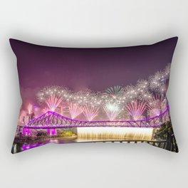 Brisbane riverfire Rectangular Pillow