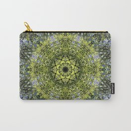 Light Shining Through a Tree Fractal Carry-All Pouch