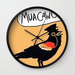 MuaCawCaw Wall Clock
