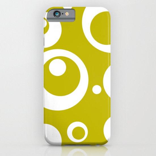 Circles Dots Bubbles :: Citron iPhone & iPod Case
