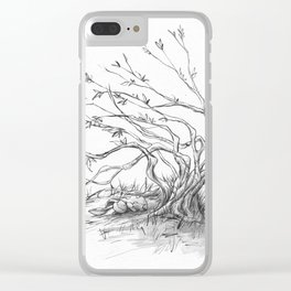 Velveteen Clear iPhone Case