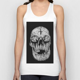 Black blooded Unisex Tank Top