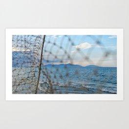 An Bang Netting Art Print