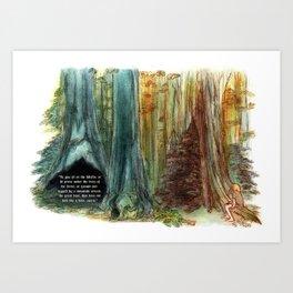 Tree Affinity Art Print