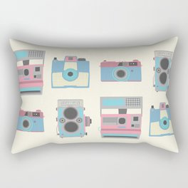 Vintage Cameras Rectangular Pillow