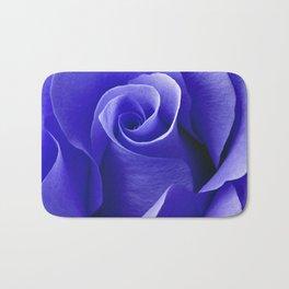 Blue ROSE Bath Mat