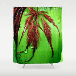 Peaceful Nature Shower Curtain