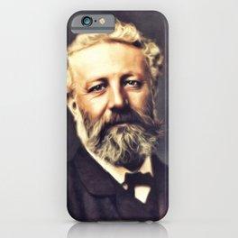 Jules Verne, Literary Legend iPhone Case