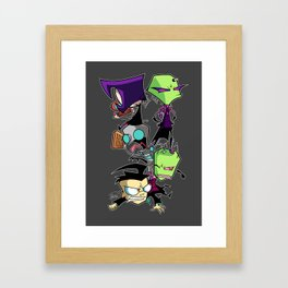 Pile on the Dib Framed Art Print
