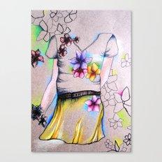 Outline Canvas Print