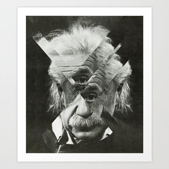 Albert E Mix 2 Art Print
