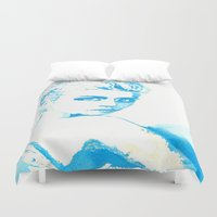 ali gulec Duvet Covers featuring Ali H. by Kim Ly