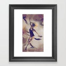 Shadow Dance Framed Art Print