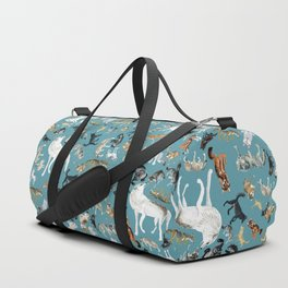 Wolves of the World pattern 2 Duffle Bag