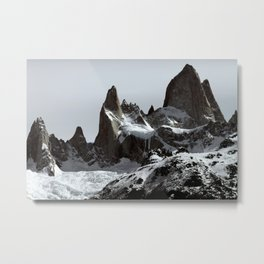 mountains of Patagonia Metal Print