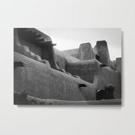 Adobe Lines Metal Print