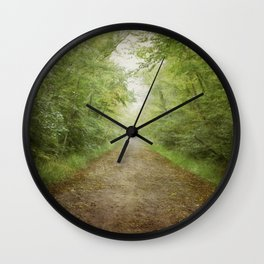The Road to Somewhere Else Wall Clock