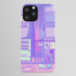 Pastel Tokyo Cats iPhone Case