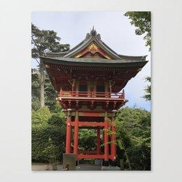 Treasure Tower Pagoda in San Francisco Canvas Print