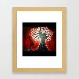 In My Tree Painting Framed Art Print