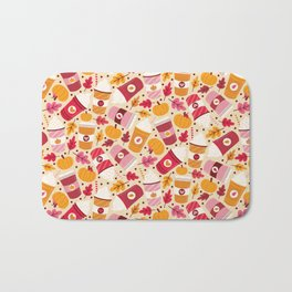 Pumpkin Spice Love Bath Mat