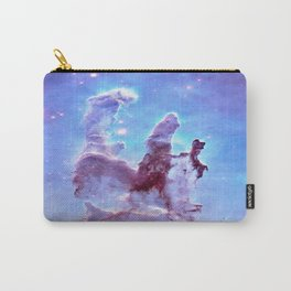 nEBulA Pastel Blue & Lavender Carry-All Pouch