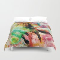 storm Duvet Covers featuring Storm by RIZA PEKER