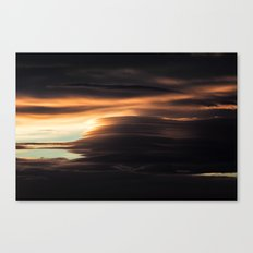 Clouds Over Iceland Canvas Print
