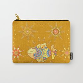 Patterns with Fishes  Carry-All Pouch