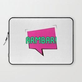 Look Out for the Armbar Brazilian Jiu-Jitsu BJJ Training MMA Laptop Sleeve
