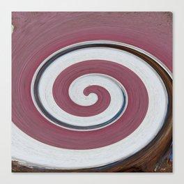 Swirl 06 - Colors of Rust / RostArt Canvas Print