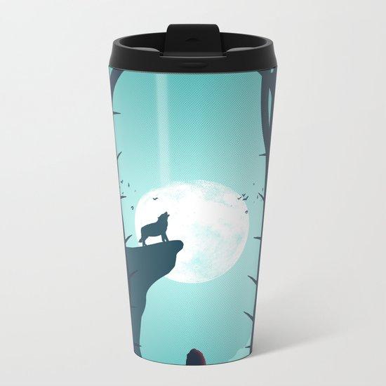 Full Moon Metal Travel Mug