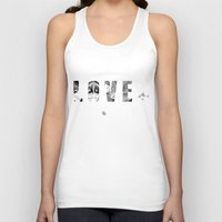 hentai Tank Tops featuring LOVE + by CA$H SIMPSON