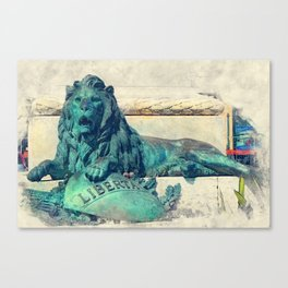 Trapani art 24 Sicily Canvas Print