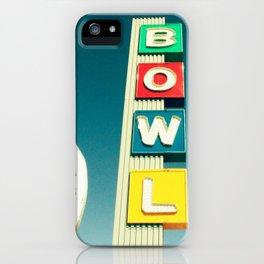 Linbrook Bowl - Anaheim, CA iPhone Case