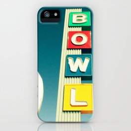 Linbrook Bowl - Anaheim, CA iPhone Case