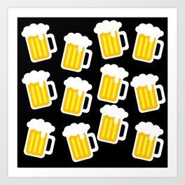 beer love Art Print