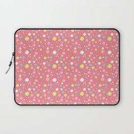 Spring Floral Pink Laptop Sleeve
