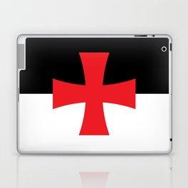Knights Templar Flag - High Quality Laptop & iPad Skin